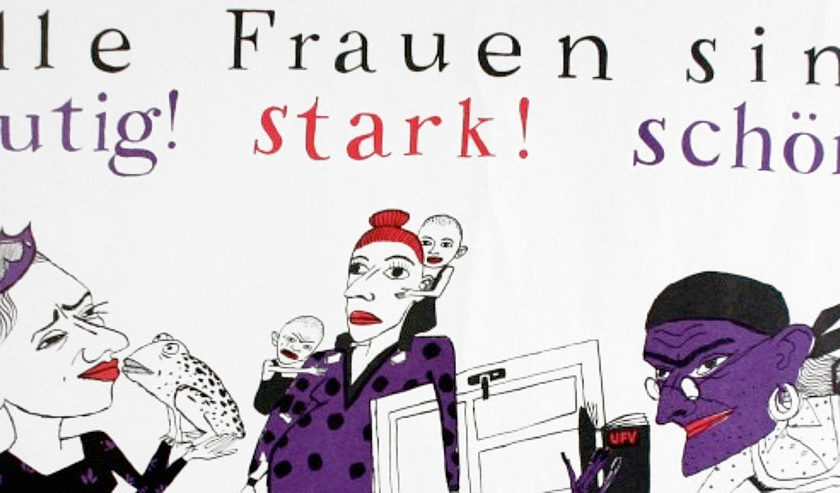 »Alle Frauen sind mutig! stark! schön!« – Frauen und Frauenbewegung in Ostdeutschland 89/90+